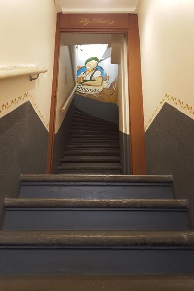 L'escalier de la Bav - Brasserie