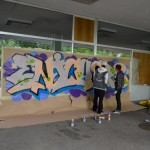 animation graffiti école
