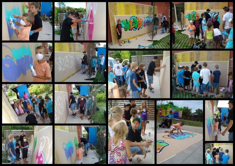 Decoration fresque graffiti lausanne fribourg gen ve neuch tel - Graffiti prenom gratuit ...