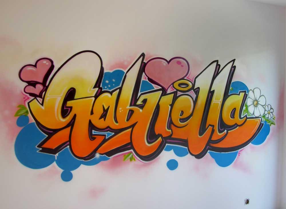 D coration graffiti pour enfant et ado geneve enfant - Graffiti prenom gratuit ...