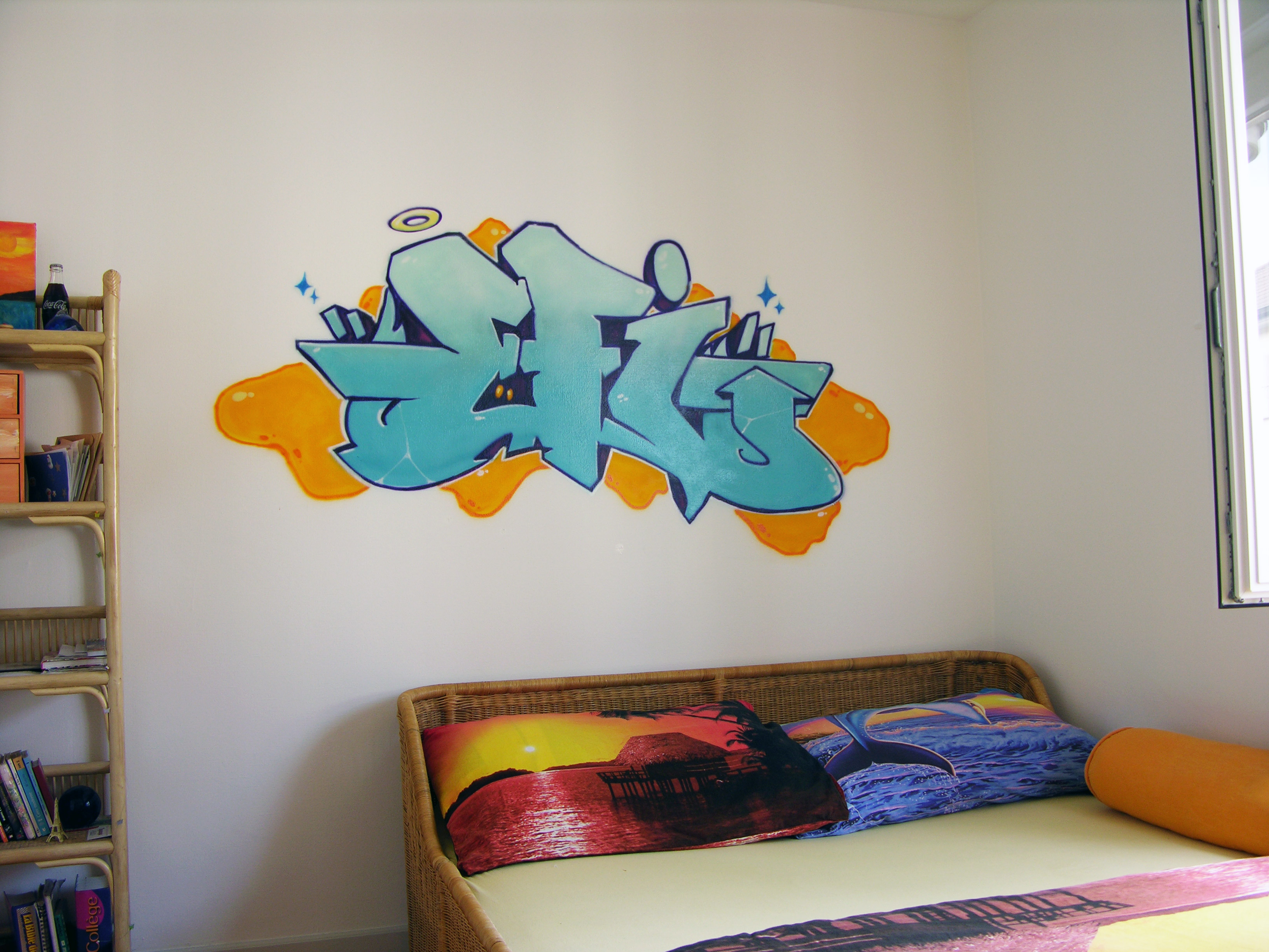 Chambre d ado tag 233831 la meilleure for Decoration murale dragon ball z