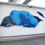 graffiti épave océan
