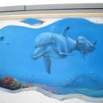 graffiti dauphin