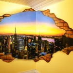 graffiti new york genève suisse chambre décoration