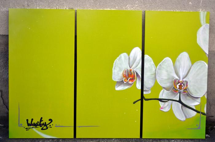 graffiti lausanne toile