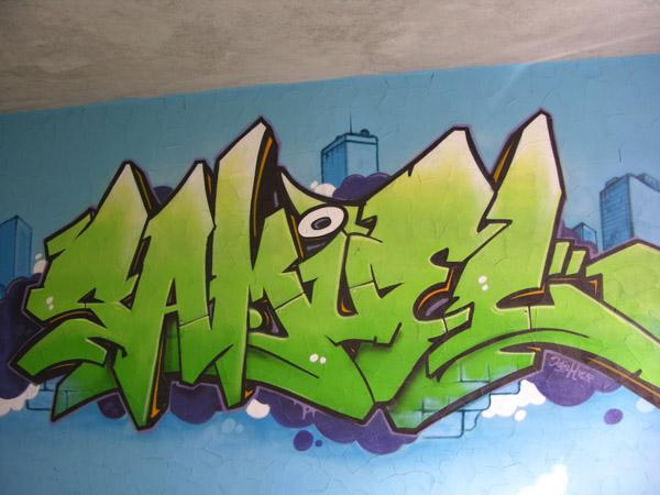 Graffiti valais chambre d 39 enfant d coration trompe l 39 oeil - Graffiti prenom gratuit ...